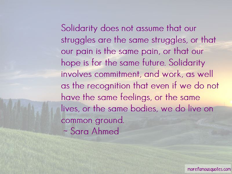 Sara Ahmed Quotes Pictures 4