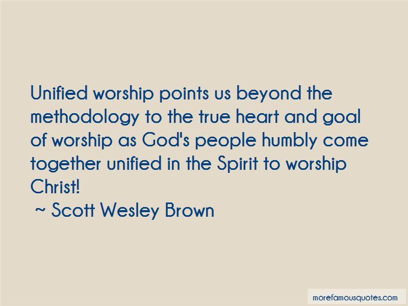 Scott Wesley Brown Quotes Pictures 2