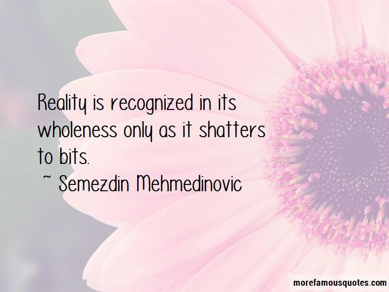 Semezdin Mehmedinovic Quotes