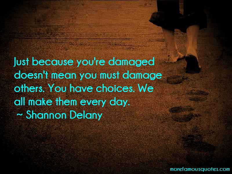 Shannon Delany Quotes Pictures 2