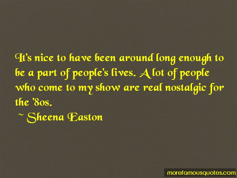 Sheena Easton Quotes Pictures 4