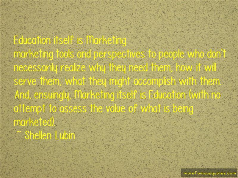 Shellen Lubin Quotes
