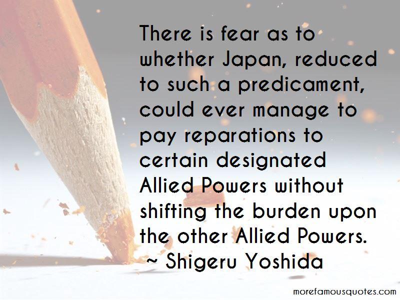 Shigeru Yoshida Quotes