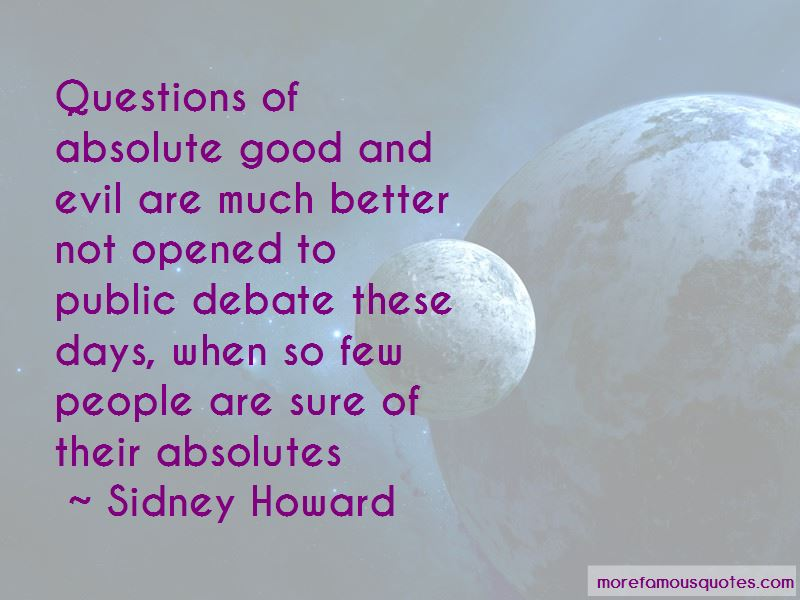 Sidney Howard Quotes Pictures 2