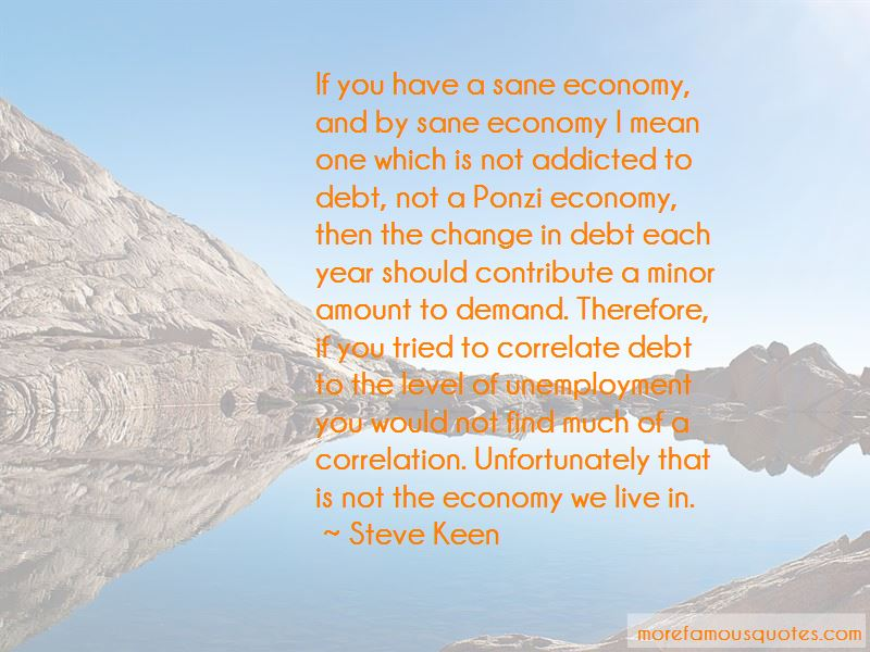 Steve Keen Quotes Pictures 2