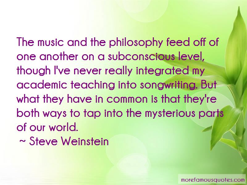 Steve Weinstein Quotes Pictures 2