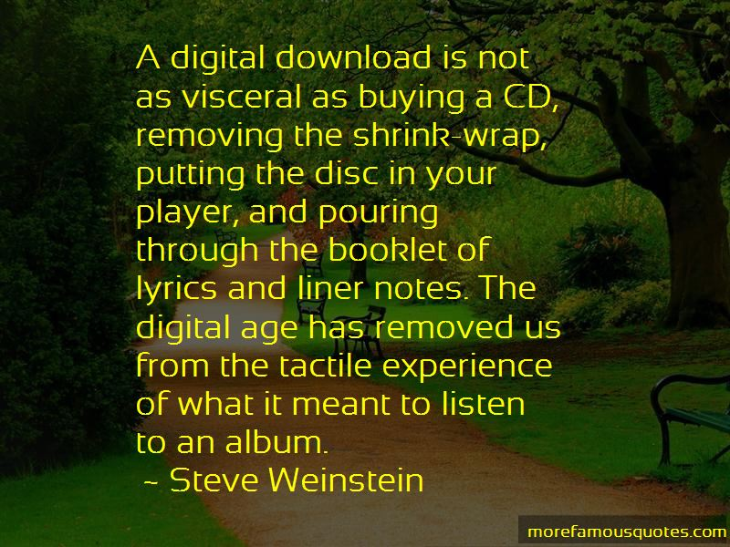 Steve Weinstein Quotes Pictures 3