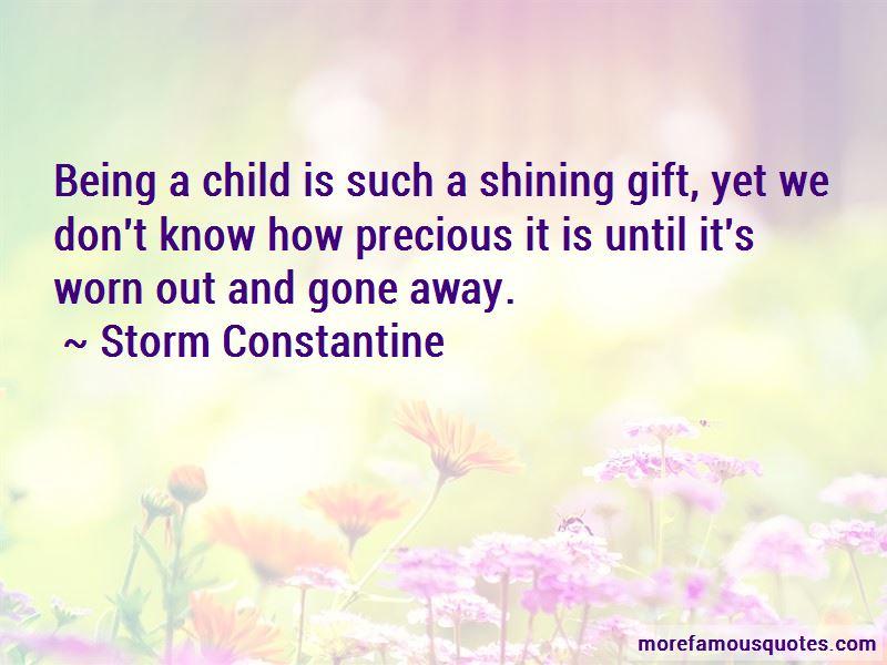 Storm Constantine Quotes