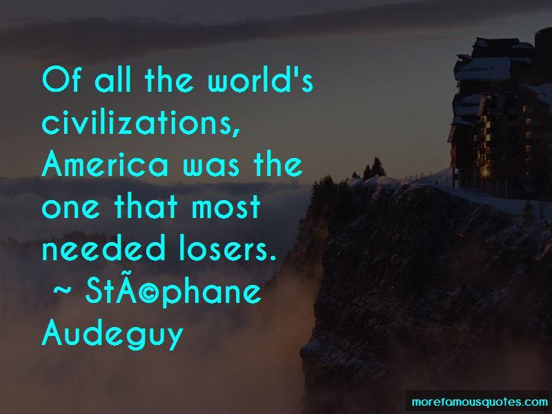 Stephane Audeguy Quotes Pictures 4