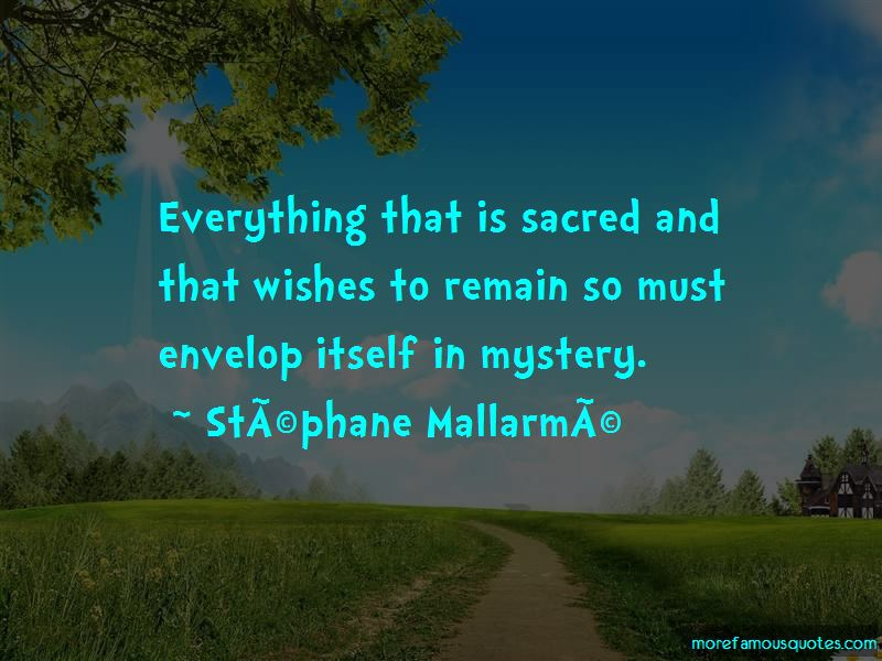 Stephane-Mallarme Quotes