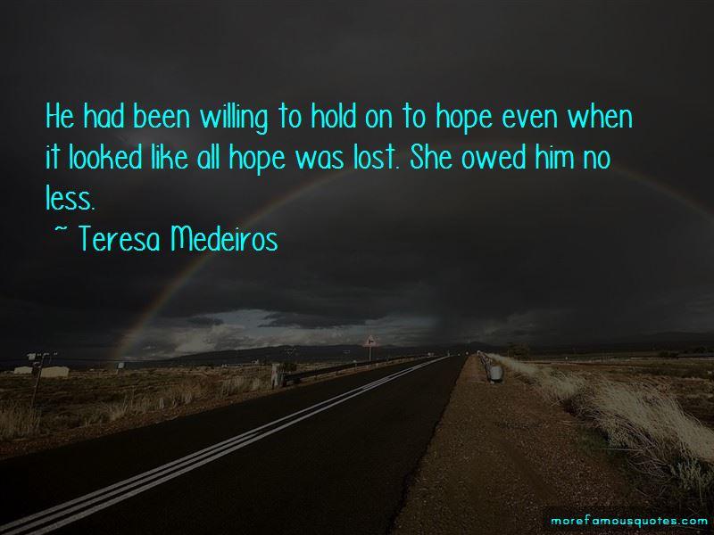 Teresa Medeiros Quotes