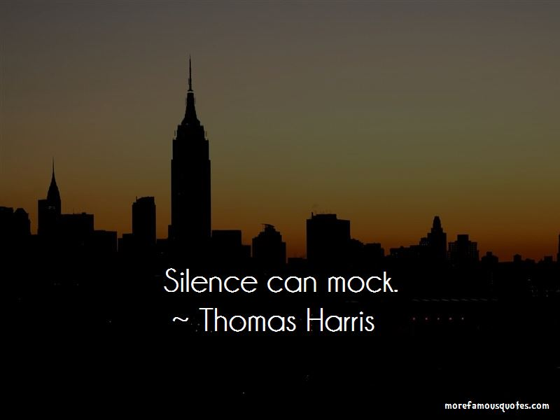 Thomas Harris Quotes