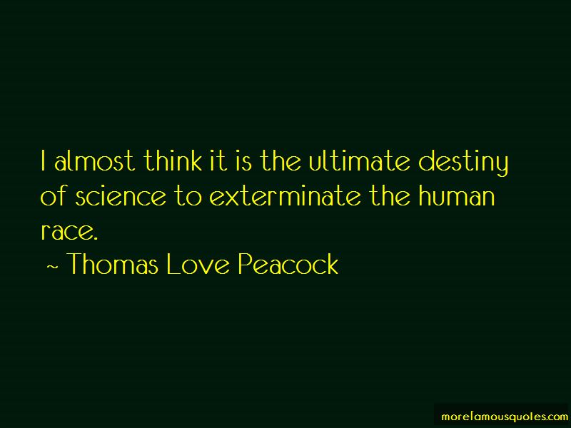 Thomas Love Peacock Quotes Pictures 3
