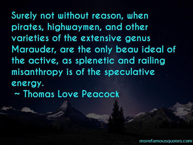 Thomas Love Peacock Quotes
