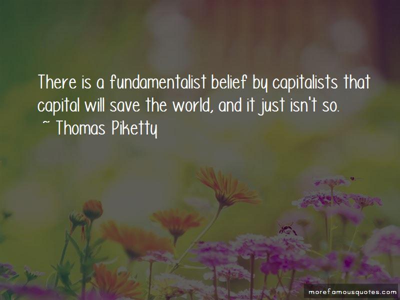 Thomas Piketty Quotes