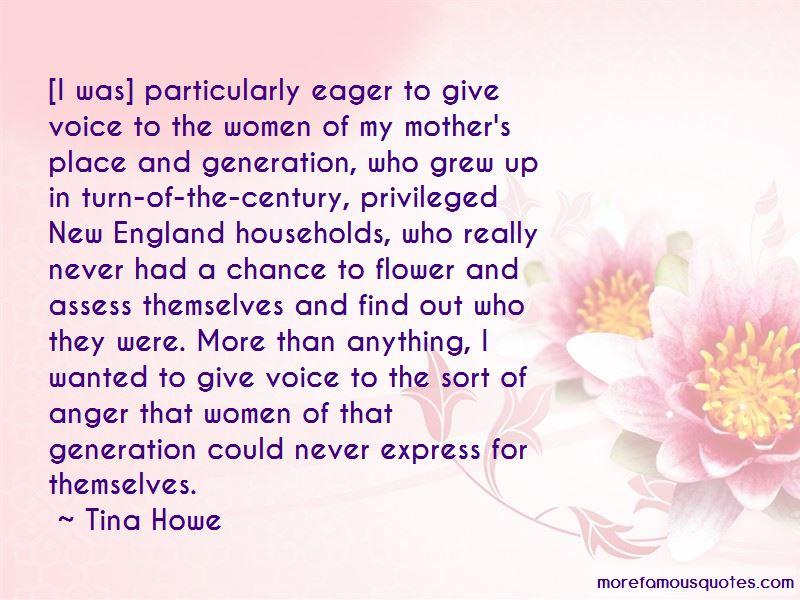 Tina Howe Quotes