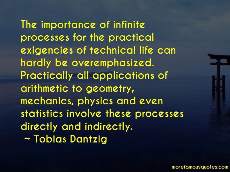 Tobias Dantzig Quotes Pictures 3