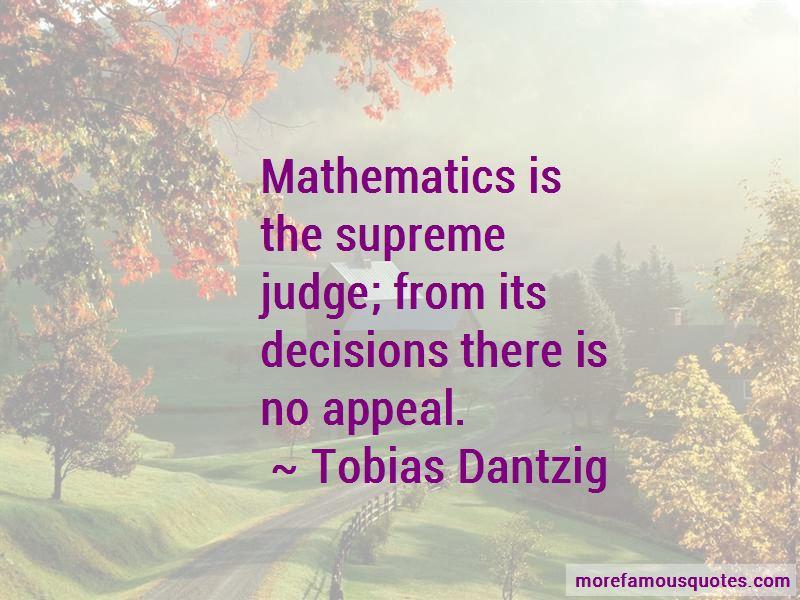 Tobias Dantzig Quotes Pictures 4
