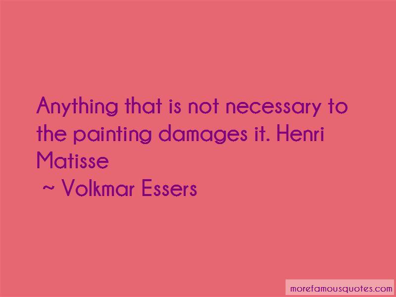 Volkmar Essers Quotes
