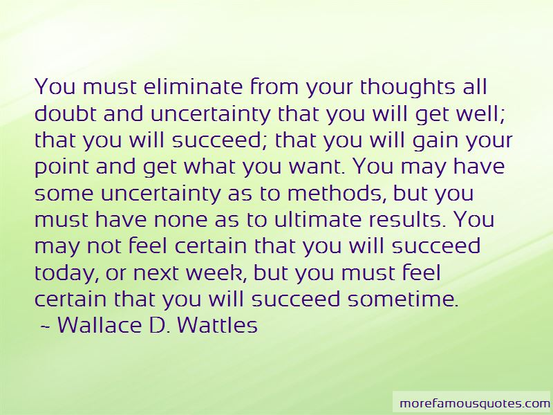 Wallace D. Wattles Quotes Pictures 3
