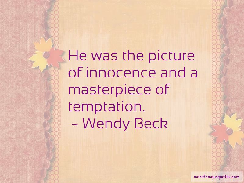 Wendy Beck Quotes Pictures 2