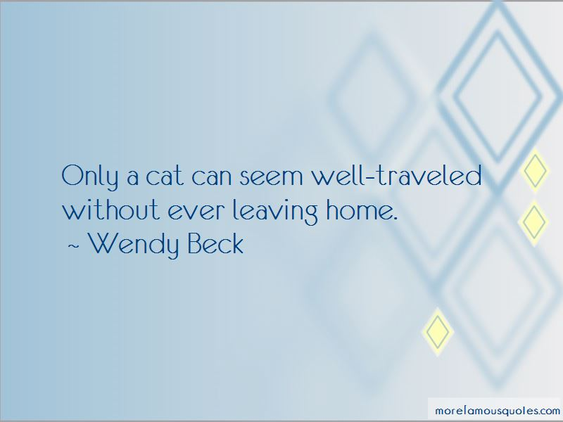 Wendy Beck Quotes Pictures 3