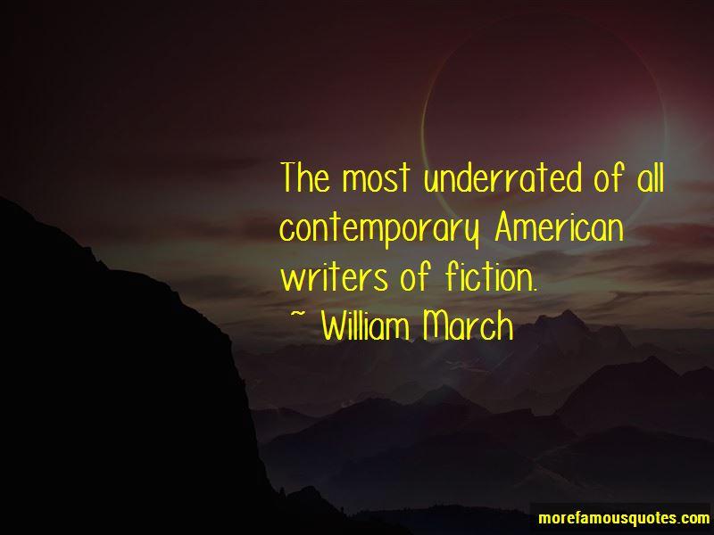 William March Quotes Pictures 2