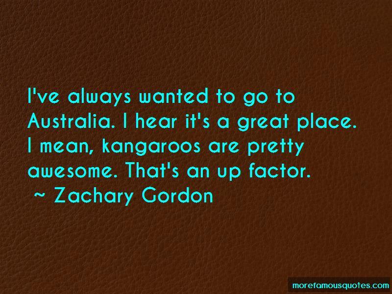 Zachary Gordon Quotes Pictures 2