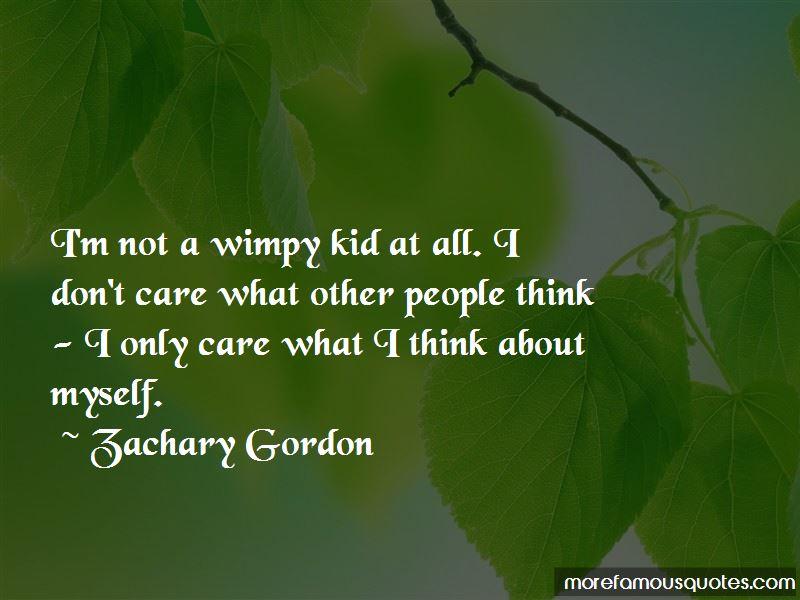 Zachary Gordon Quotes Pictures 4