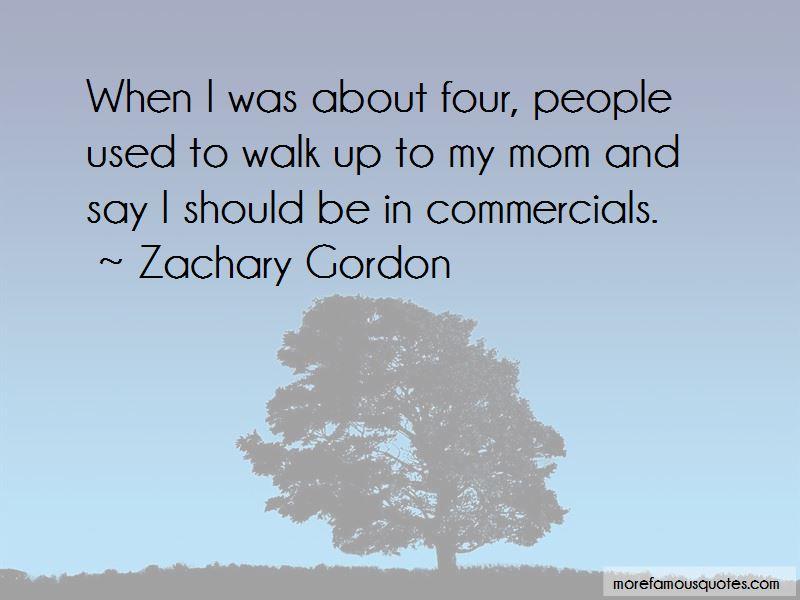 Zachary Gordon Quotes