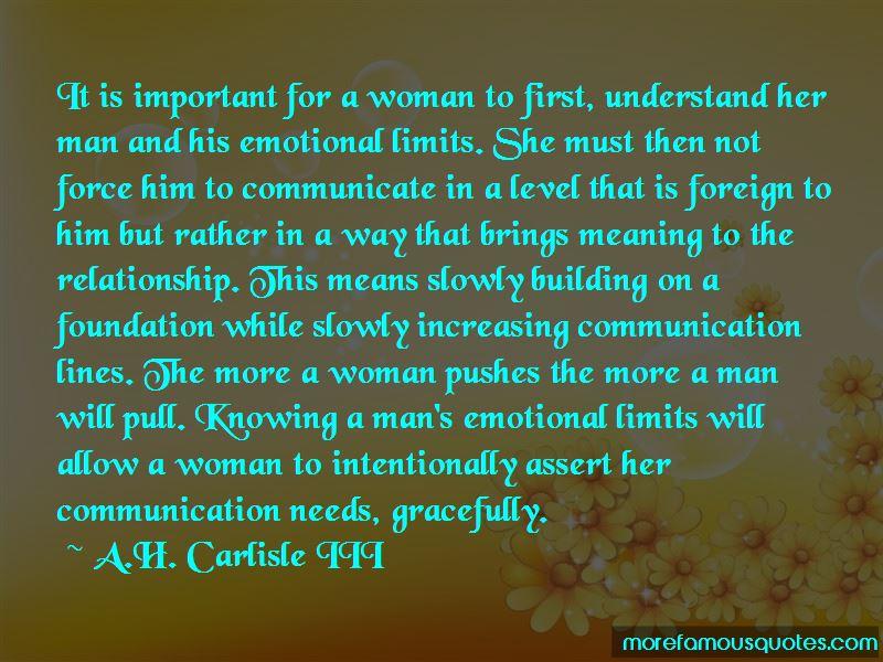 A.H. Carlisle III Quotes