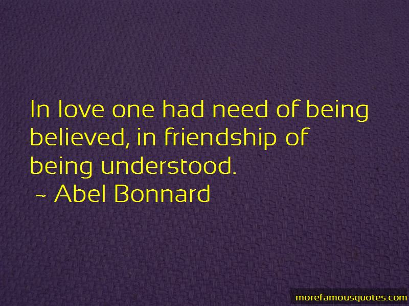 Abel Bonnard Quotes