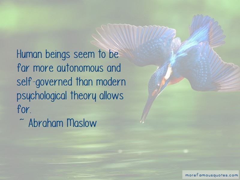 Abraham Maslow Quotes Pictures 4