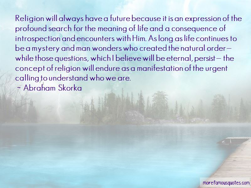 Abraham Skorka Quotes Pictures 2