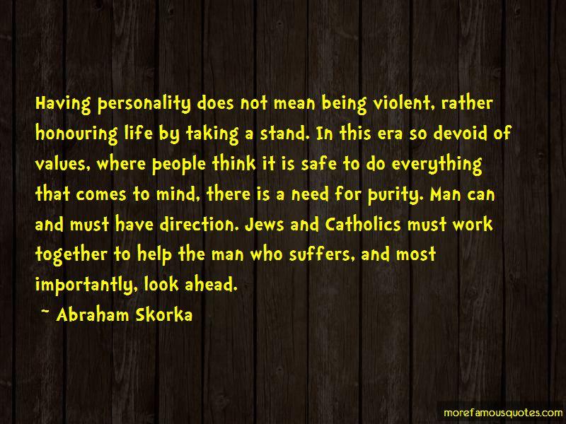 Abraham Skorka Quotes