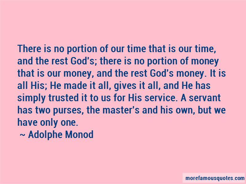 Adolphe Monod Quotes