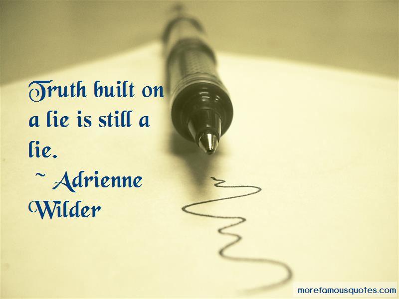 Adrienne Wilder Quotes Pictures 2