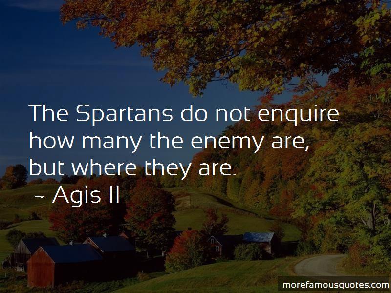 Agis II Quotes