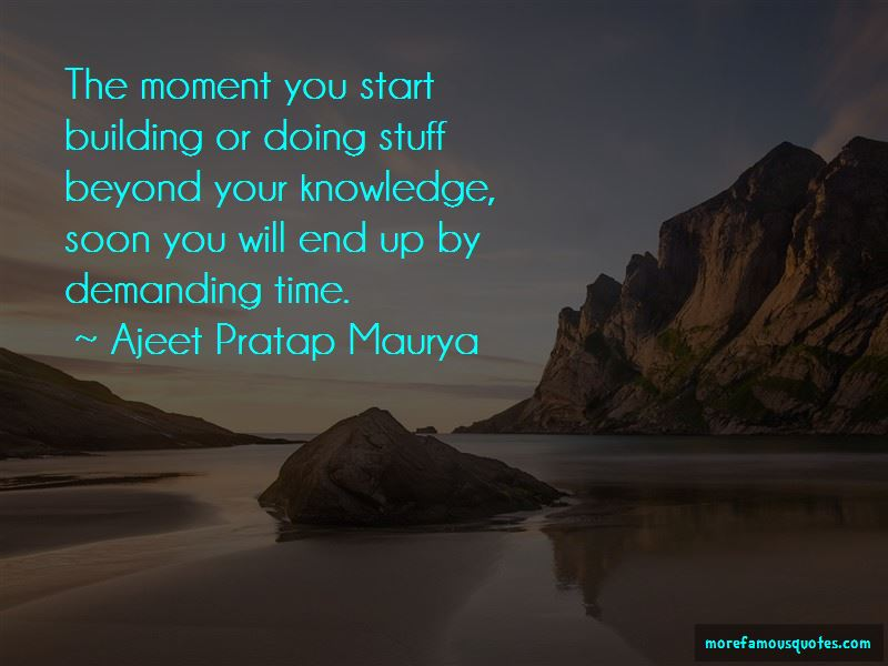 Ajeet Pratap Maurya Quotes Pictures 2