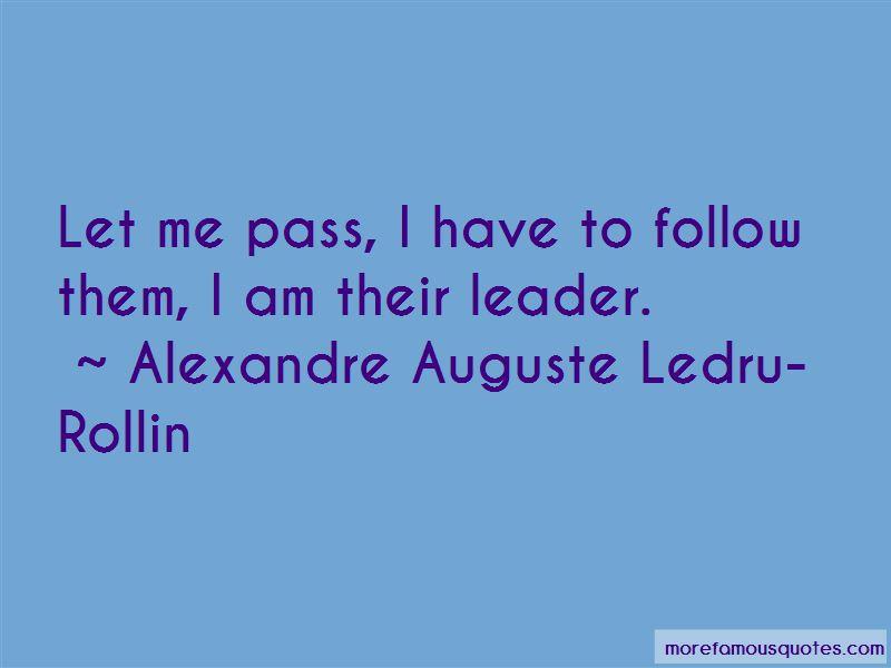 Alexandre Auguste Ledru-Rollin Quotes Pictures 3