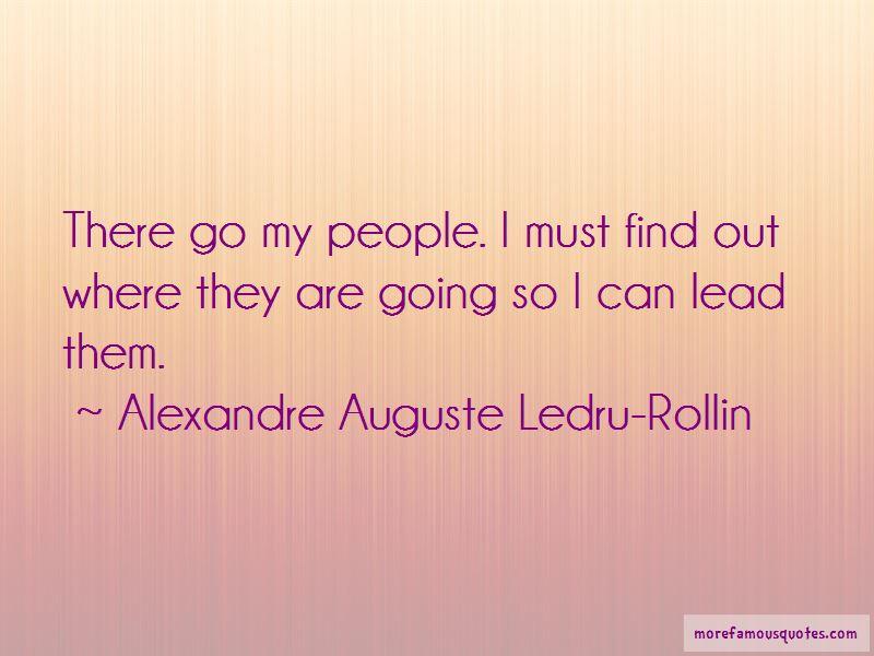 Alexandre Auguste Ledru-Rollin Quotes Pictures 4