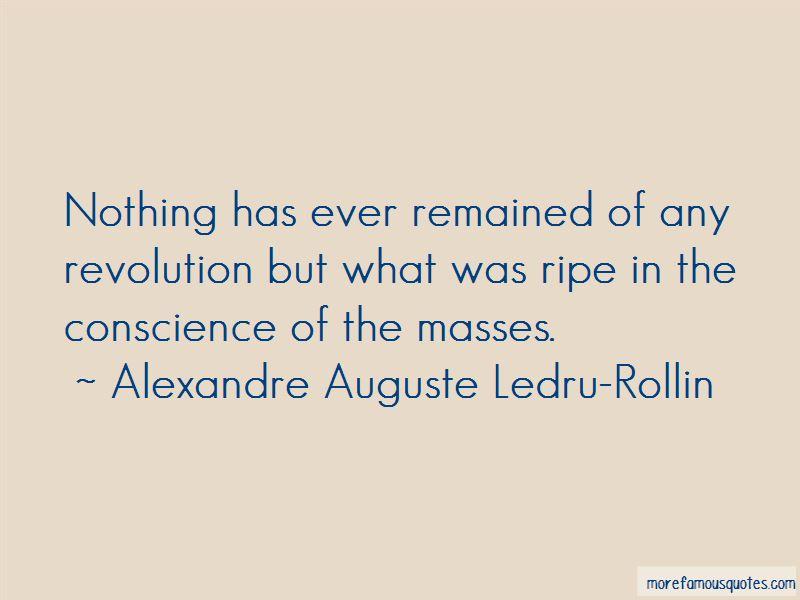 Alexandre Auguste Ledru-Rollin Quotes