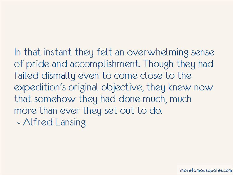 Alfred Lansing Quotes Pictures 3