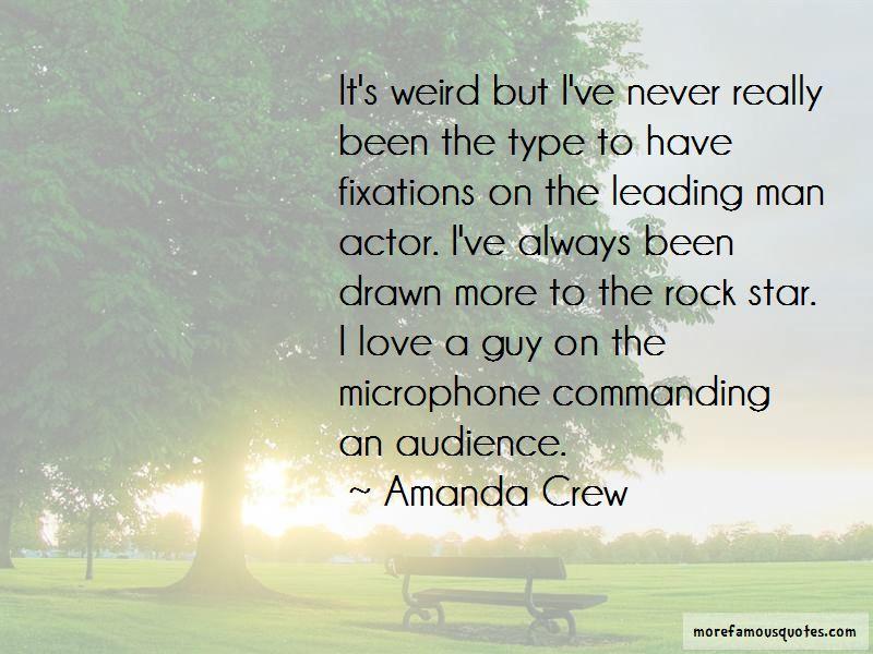 Amanda Crew Quotes Pictures 2
