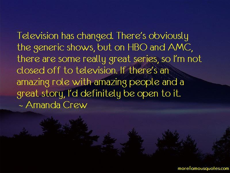 Amanda Crew Quotes Pictures 3