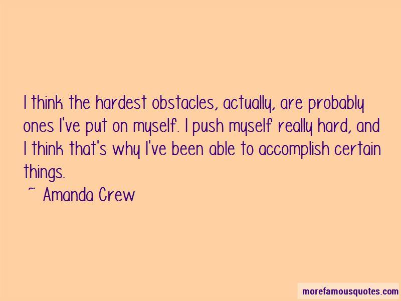 Amanda Crew Quotes Pictures 4