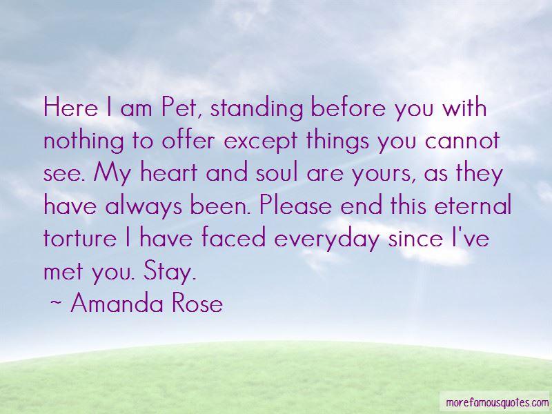 Amanda Rose Quotes