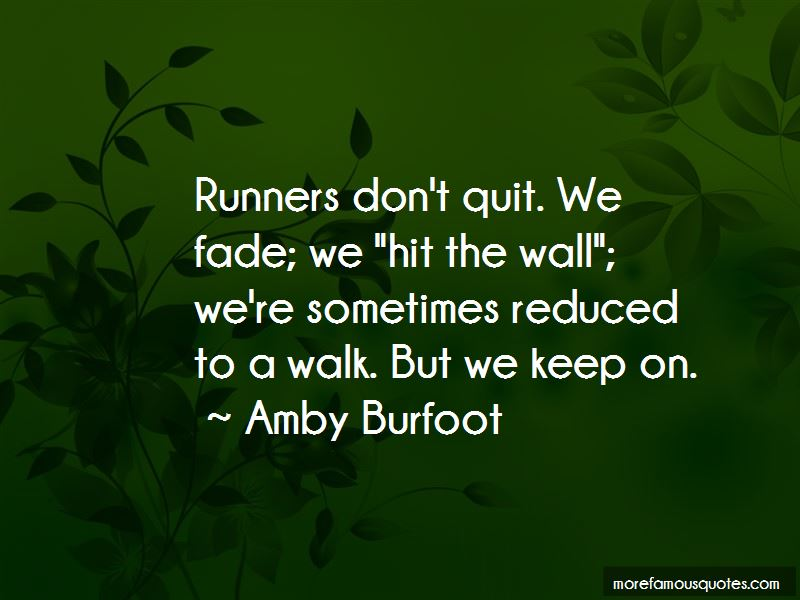 Amby Burfoot Quotes Pictures 3