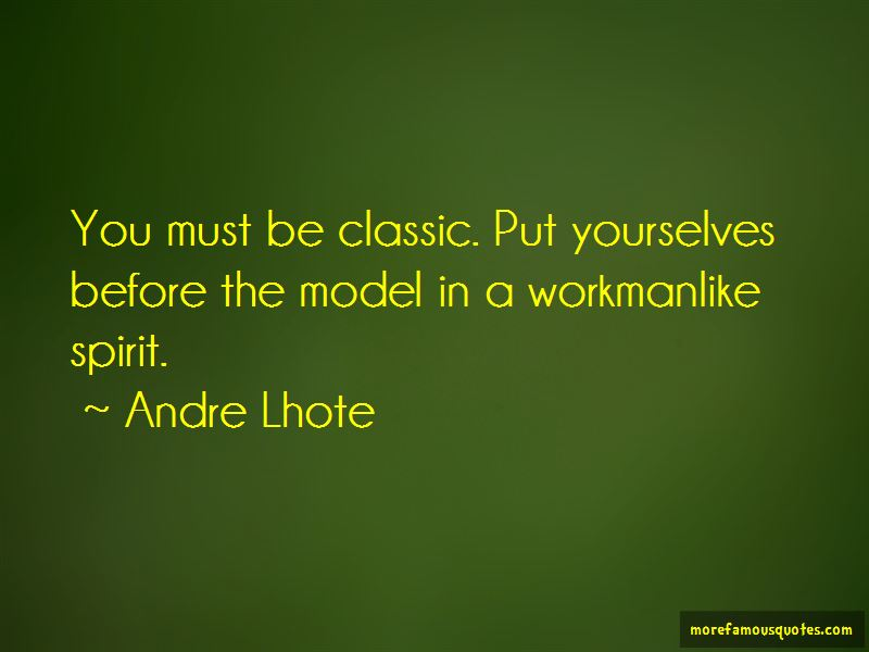 Andre Lhote Quotes Pictures 2