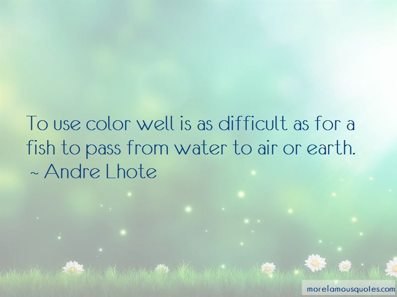 Andre Lhote Quotes Pictures 3